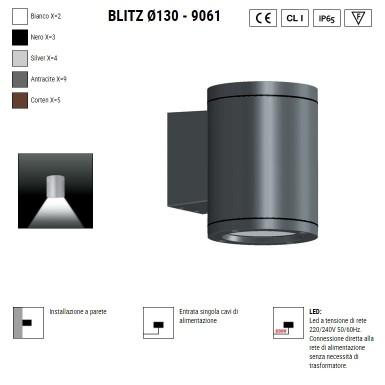 BOLUCE Blitz 130 parete 9061