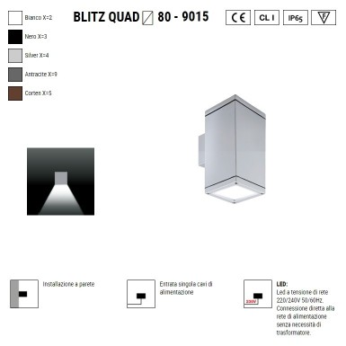 BOLUCE Blitz Quad  80...