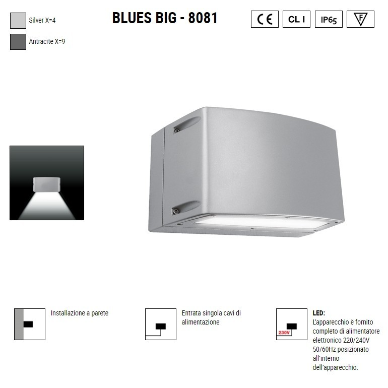 BOLUCE Blues Big 8081