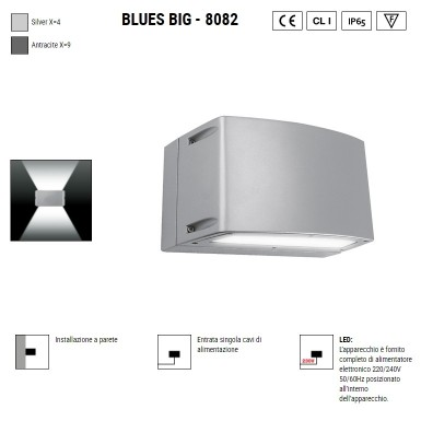 BOLUCE Blues Big 8082