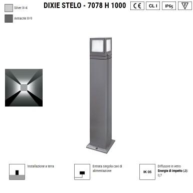BOLUCE Dixie stelo