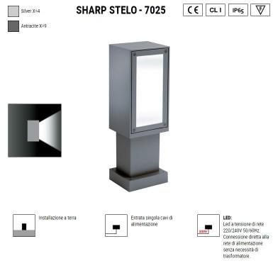 BOLUCE Sharp stelo 7025