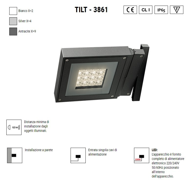 BOLUCE Tilt 3861