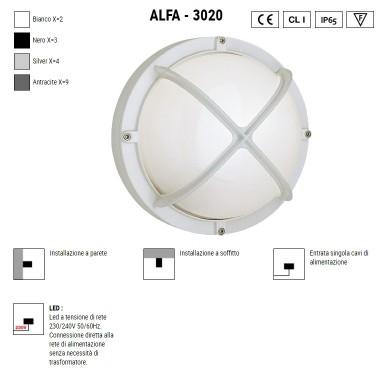 BOLUCE Alfa Round 3020