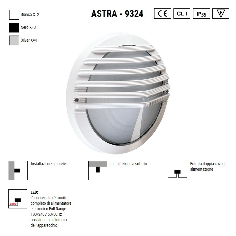 BOLUCE Astra 9324