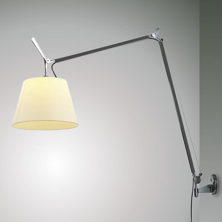 Tolomeo Mega Parete.Artemide Tolomeo Mega Led Lampada Da Parete Scontata Ap Illuminazione
